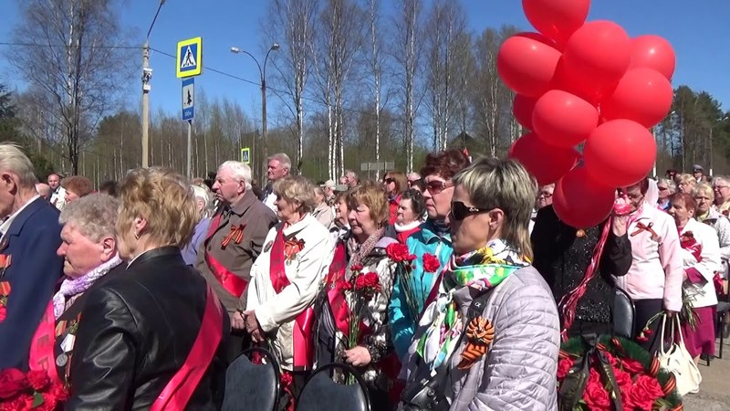 Митинг на Астрачинском рубеже 9 мая 2018 г
