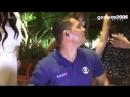 Repórter do SporTV é assediado ao vivo