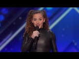 Sofie Dossi  Teen Balancer and Contortionist Shoots a Bow With Her Feet   Americas Got Talent 2016