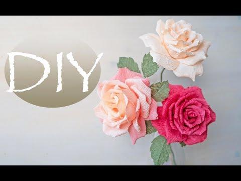 Вывернутая роза из бумаги DIY Tsvoric