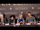 Hunger Times EXCLUSIVE  Jennifer Lawrence spills mints at Catching Fire Madrid Press Conference