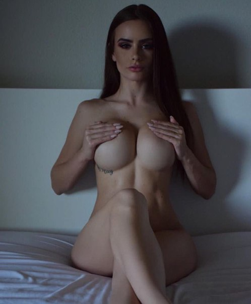 Girl in lingerie pumping pussy