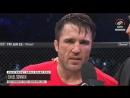 Послематчевое интервью Чейла Соннена на Bellator 192