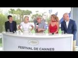 Cafe Society - Interview de Woody Allen, Kristen Stewart, Jesse Eisenberg - Cannes 2016 CANAL+