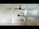Дизайн узкой вытянутой кухни идеи