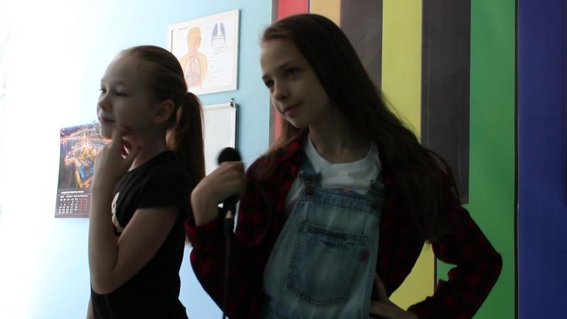 Молчанова Алиса и Хомина Лилия - Едем на дискотеку