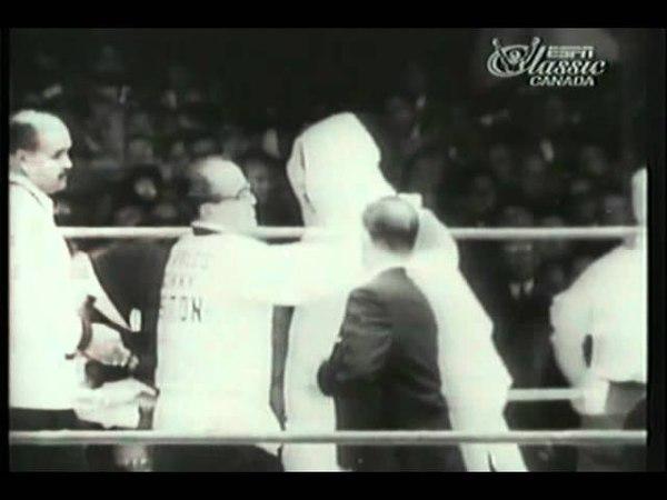 Floyd Patterson vs Sonny Liston, I (short)