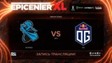 NewBee vs OG, EPICENTER XL, game 1 [Funky, Lum1Sit]