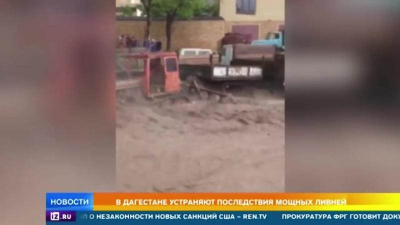 Жители юга России спасаются от наводнений