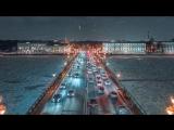 Winter Saint Petersburg Russia 6K. Shot on Zenmuse X7 ⁄⁄ Зимний Петербург, аэросъёмка