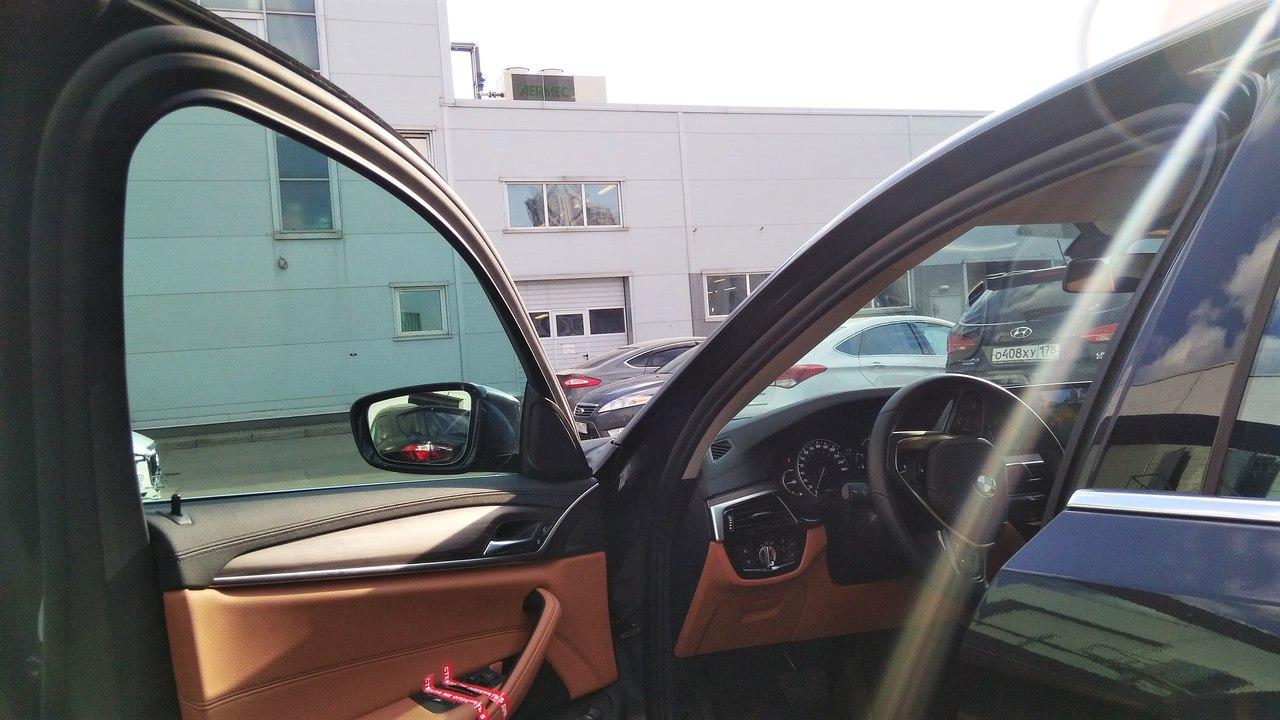 ТОНИРОВКА BMW АТЕРМАЛЬНОЙ ПЛЁНКОЙ 3M CRYSTALLINE 70