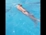 Упражнение для плавания на спине