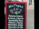 Tapas y gazpacho
