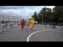 Перец и Пицца бегут марафон