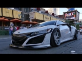 Реакци людей на Acura NSX Liberty Walk