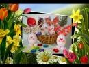 Весенняя цветочно-яичная фантазия...