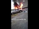 Кольский 113 горит авто