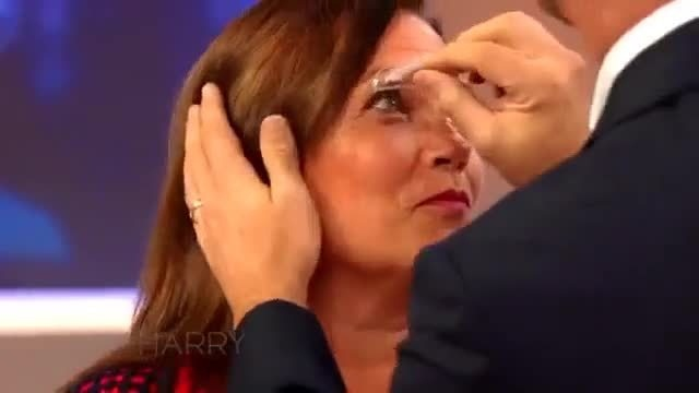 """Harry Connick Jr on Instagram """"Harry and an audience member test out eyebrow stamps to see if they are Worth The Hype! HarryTV"""""""