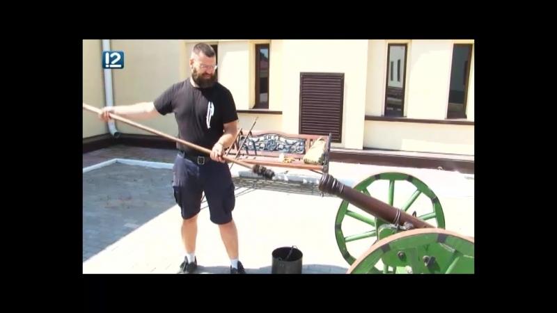 В Омской крепости ежедневно в полдень будут давать пушечный залп