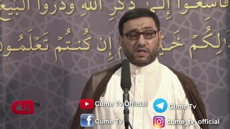 Haci Sahin 2018-Gencede Bas Veren Hadiselere Munasibet Bildirib