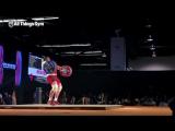 Lasha Talakhadze 220kg Snatch World Record (+ Slow Motion)