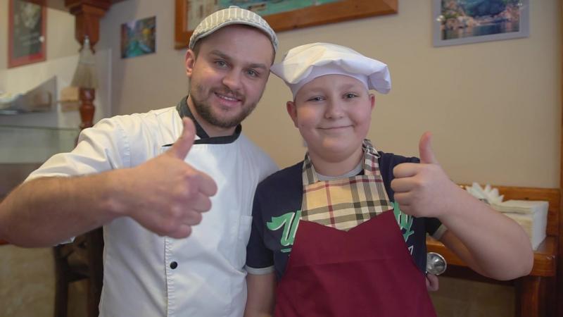 Детский мастер класс по приготовлению пиццы смотреть онлайн без регистрации