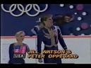 Олимпийские игры 1988 Фигурное катание пары Jill Watson Peter Oppegard произвольная программа