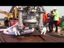 Chạy thử, vận hành bơm chìm thủy lực Dragflow tại Tp HCM
