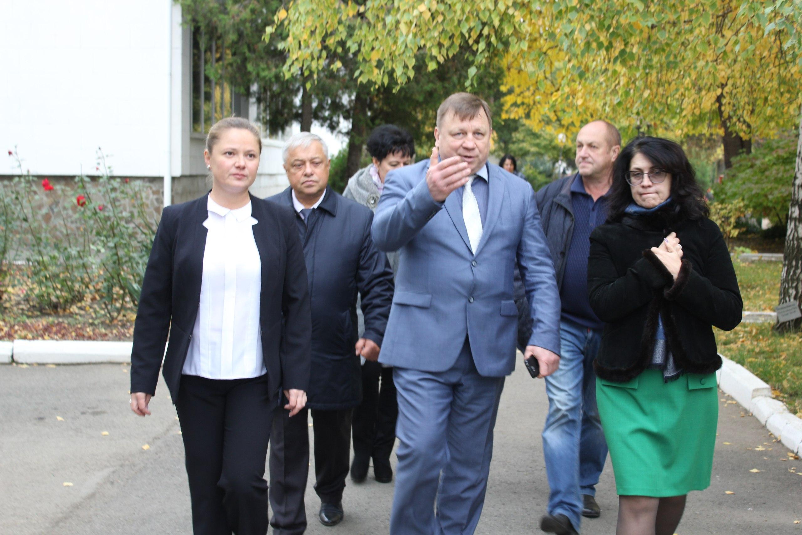 Визит главы города Симферополя Игоря Лукашева
