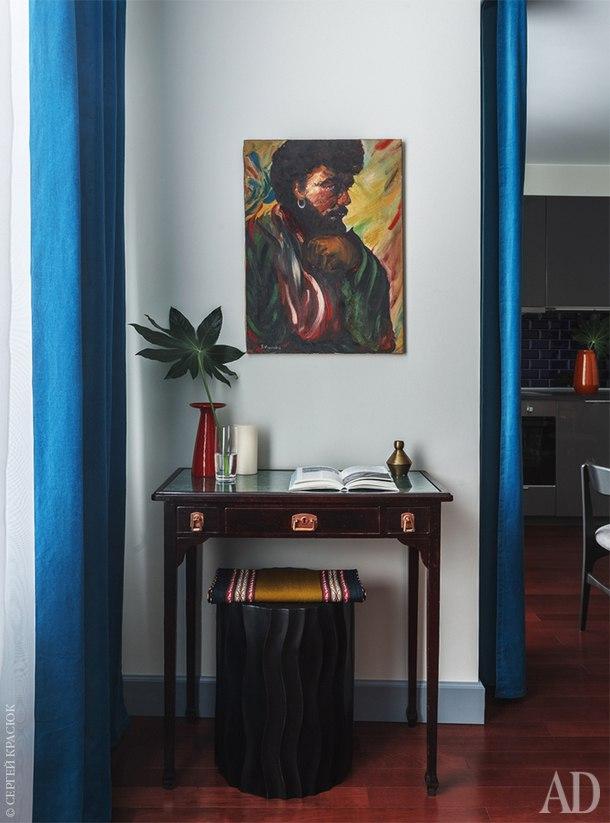 Дизайн квартиры-студии 48 м в Москве.