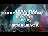 Nickelback - Feed The Machine Tour 2018 Wrap Up