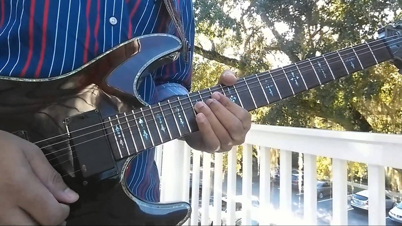 Gary Moore - Parisienne Walkways Guitar Cover (Instrumental)