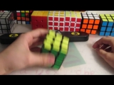обучение скоростной сборке кубика рубика одной рукой #1