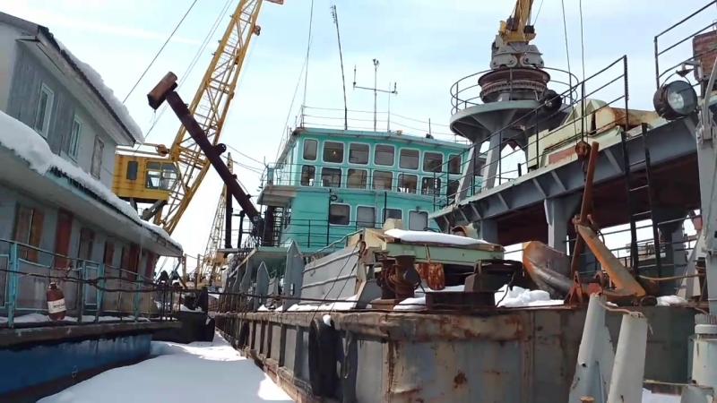 Корабли Борковского затона