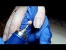 NEW VIDEO Этап 4 аппаратного маникюра Фреза корундовый шар ультрамягкого абразива