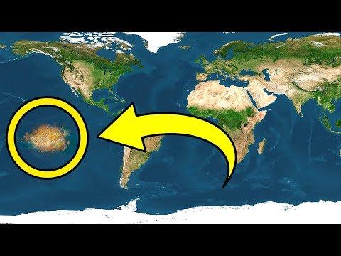 В Тихом Океане Обнаружен Совершенно Новый Континент