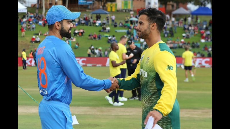 CRICKET, T20I Highlights of South Africa v India, Feb 21, 2018