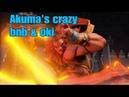Street fighter 5 | Akuma Bnb combos meaty oki setups| Season 3.5