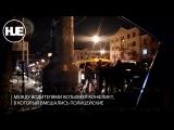 Автохам на Х5 устроил шоу в Краснодаре в новогоднюю ночь