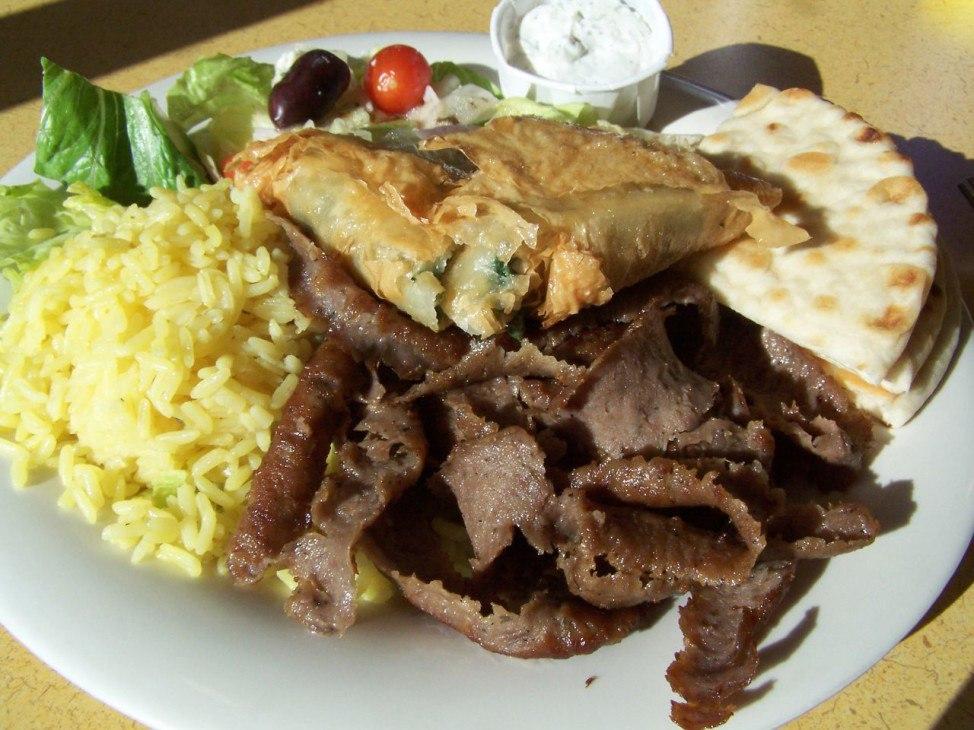 греческая готовая еда с доставкой