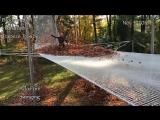 Другой уровень прыжка в кучу листьев