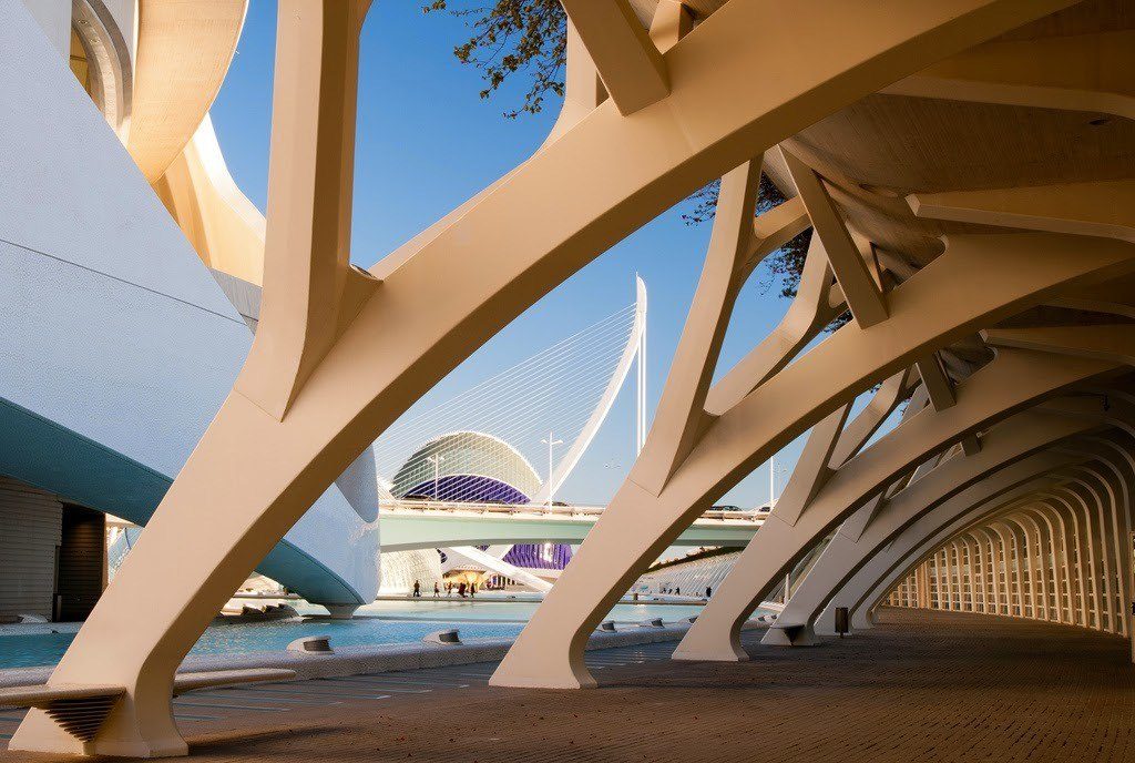 «Город искусств и наук» в Валенсии, Испания