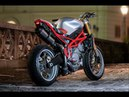 A Moto Morini Corsaro 'Superleggera' from Titan Motorcycles via PipeBurn