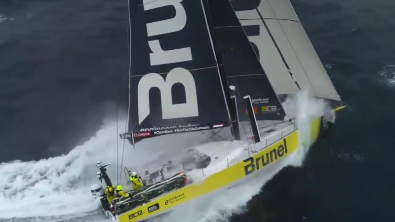 🚨HOW TO FLY A DRONE IN 30 KNOT WINDS 🚨... - Volvo Ocean Race