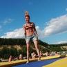 "Tanya on Instagram: ""good weather, good jumping ❤☀️💪 . . wt23 trampoline freestyle sport jump flip trick23 twists flips acrobatics athle..."