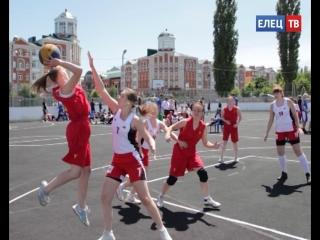 Впервые в Ельце прошёл межрегиональный турнир по стритболу ассоциации студенческого баскетбола #ЗдоровыйрегионЕлец
