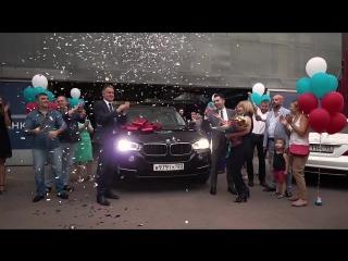Вручение BMW x5 Партнеру компании PM International в России