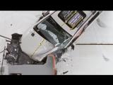 Subaru Forester small overlap IIHS - краштест