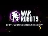 Новое событие - 4 года War Robots