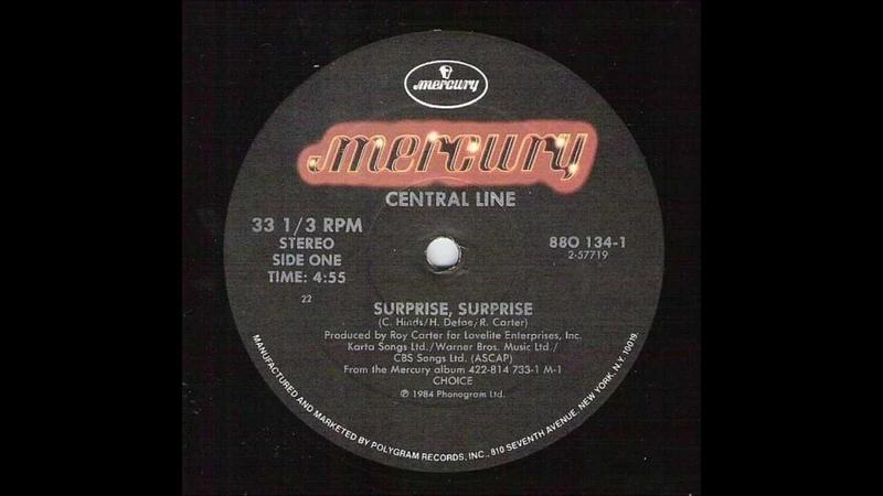Central Line - Surprise Surprise (HQ - 1983)